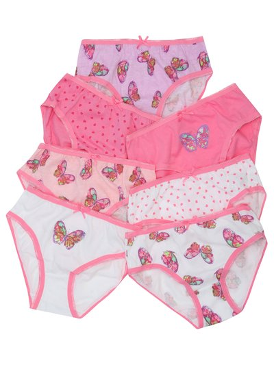 Butterfly briefs seven pack