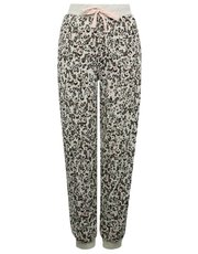 Animal print lounge trousers