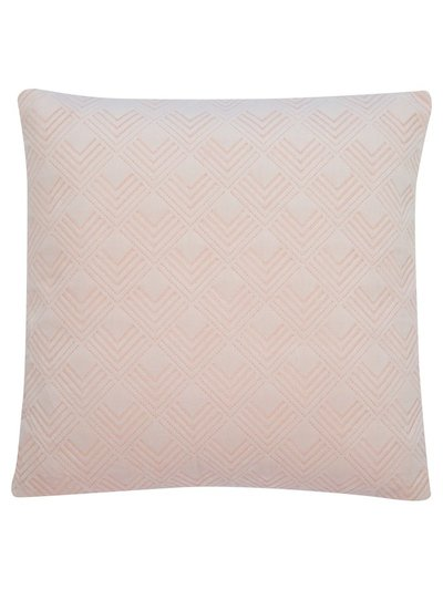 Chevron print cushion