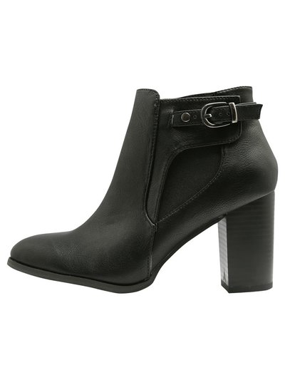 Angie buckle ankle boots