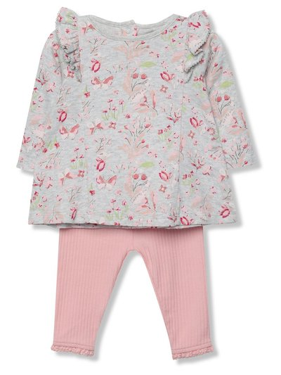 Floral top and leggings set (Newborn-18mths)