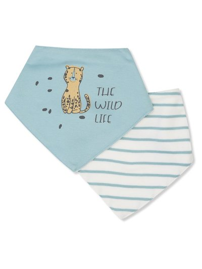 The wild life bib set two pack