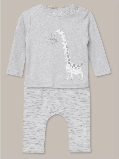 Animal top and jogger set (Newborn-18mths)