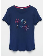 Khost Clothing Hello lovely slogan t-shirt