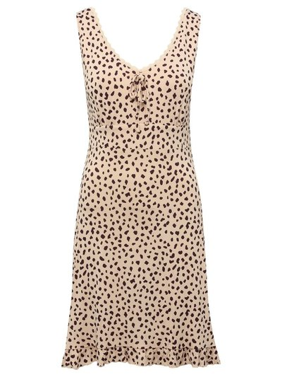 Animal print nightdress