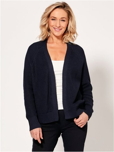 Spirit edge to edge cardigan