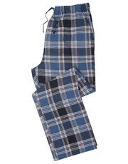 Blue check lounge trousers