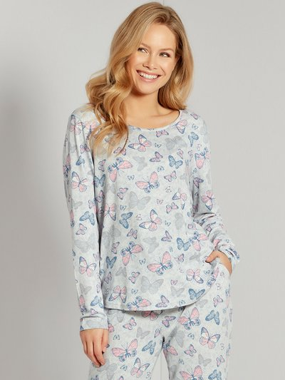 Butterfly loungewear top