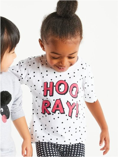 Spot slogan tee (9mths-5yrs)