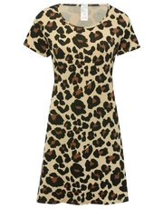 Leopard print nightdress
