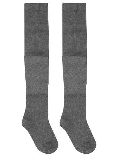 Grey tights two pack