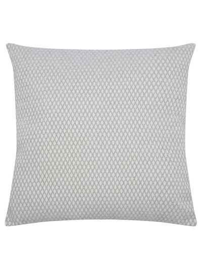 Diamond weave cushion