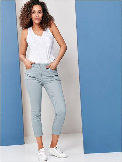 Supersoft cropped jeans