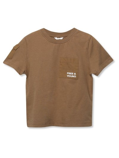 Slogan utility t-shirt (3-12yrs)