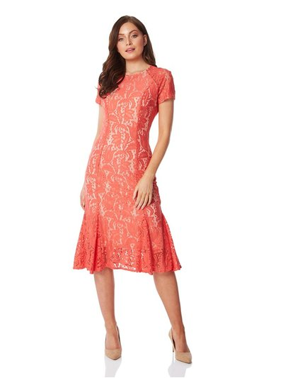 Roman Originals flute hem lace dress