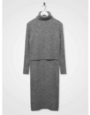 Sonder Studio knitted overlay dress