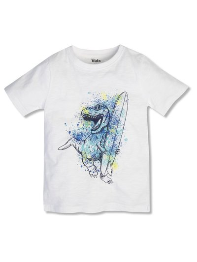 Surf board dino tee (3-12yrs)