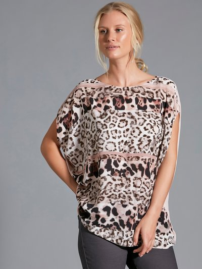 Sonder Studio animal print top