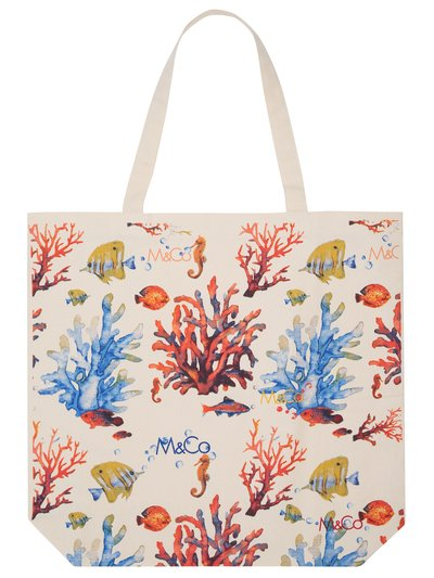 Coral reef bag for life