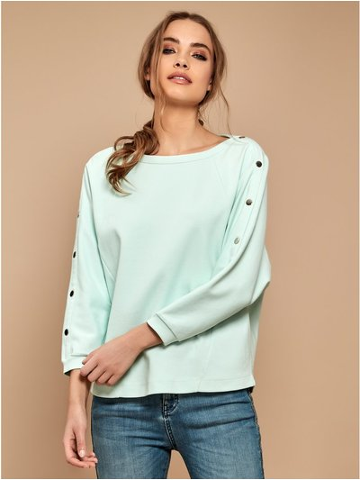 Sonder Studio popper sleeve top