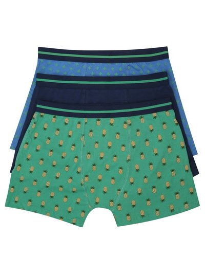 Pineapple print boxers three pack