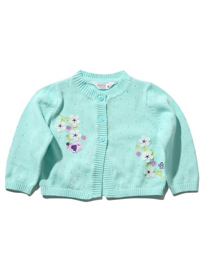 Floral embroidered cardigan (0 mths - 4 yrs)