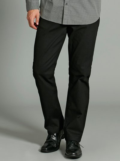 Bedford cord straight leg trousers