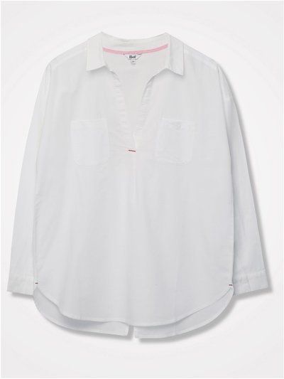 Khost Clothing split back shirt