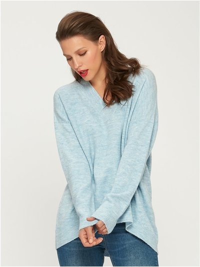 Soft v neck jumper