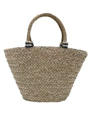Pia Rossini raffia beach bag