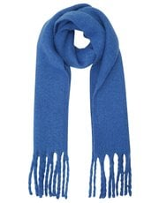 Brushed knit scarf