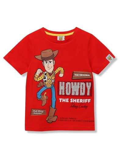 Disney Toy Story two way sequin Woody t-shirt (18mths-7yrs)