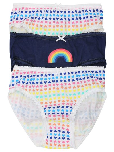 Rainbow briefs three pack (2 - 9 yrs)