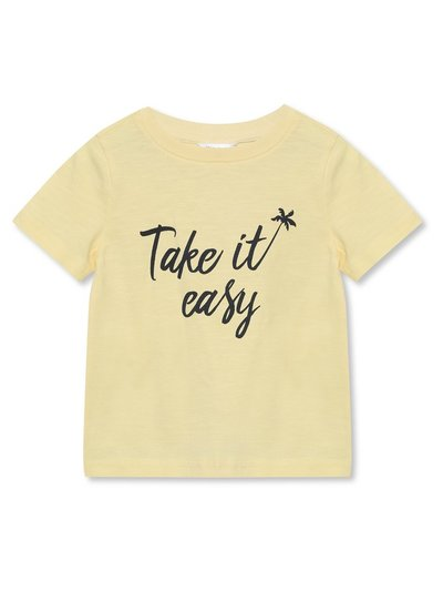 Take it easy tee (9mths-5yrs)