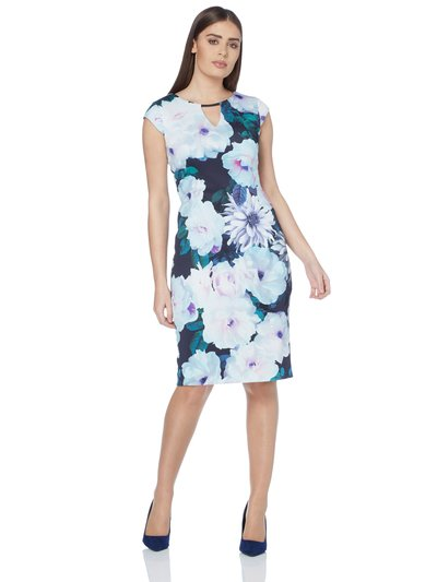 Roman Originals floral print scuba dress