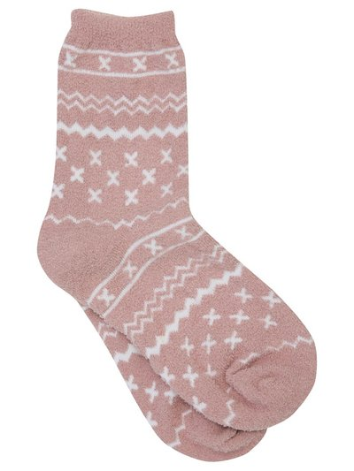 Fairisle christmas socks