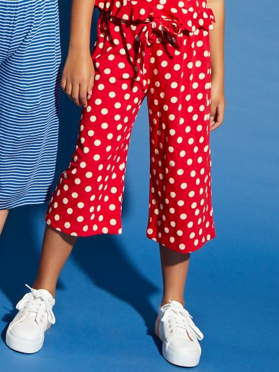 Spot Culottes (3   12 Yrs) by M&Co