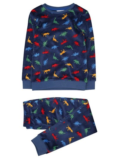 Dinosaur fleece pyjama set (1-6yrs)