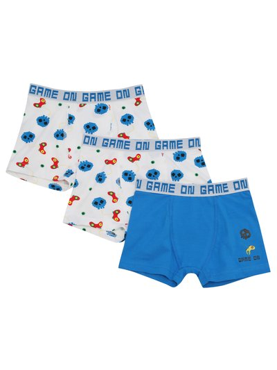 Gaming trunks three pack (3 - 12 yrs)