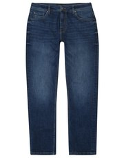 Straight leg jeans with stretch
