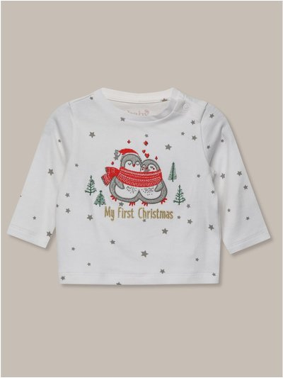 My first christmas t-shirt (newborn-12mths)