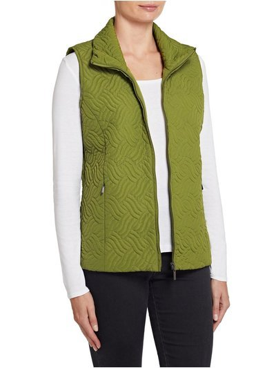 TIGI wave quilted gilet