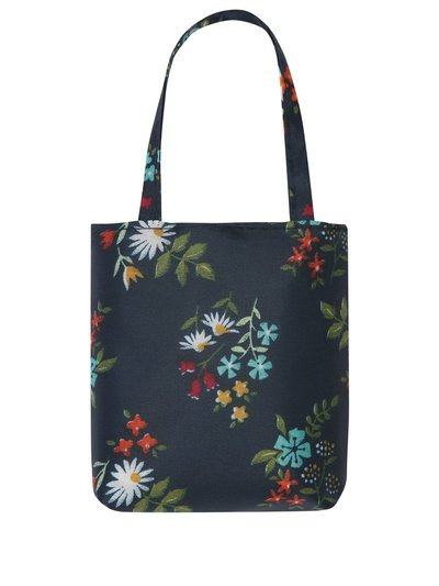 Totes floral print folding shopping bag