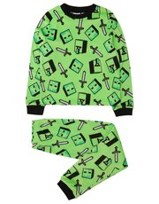 Fleece Minecraft pyjamas (5-12yrs)