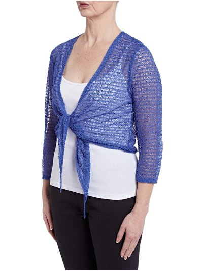TIGI textured shrug