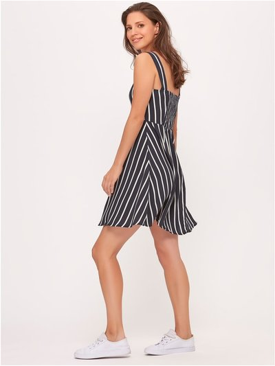 JDY striped skater dress