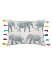 Elephant parade cushion