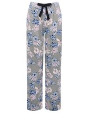Floral print loungewear trousers