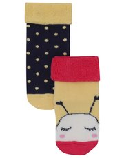 Bee and spot socks two pack