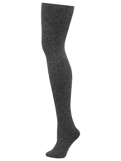 Grey marl tights